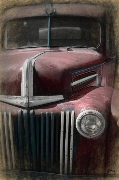 Photograph - Old Vehicle Ix - Ford Truck by David Gordon