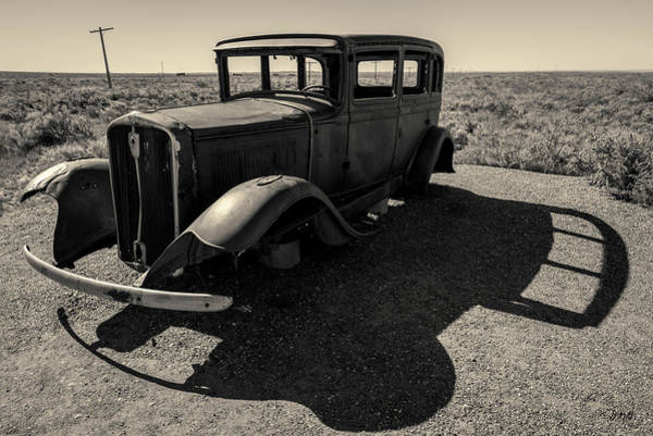 Photograph - Old Vehicle Vi Toned by David Gordon