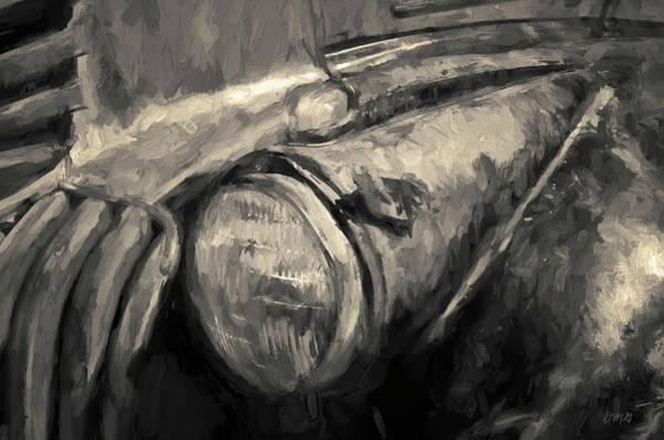 Photograph - Old Vehicle Viii Toned by David Gordon
