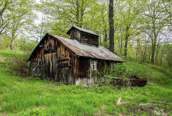 Photograph - Old Vermont Sap House by Gordon Ripley