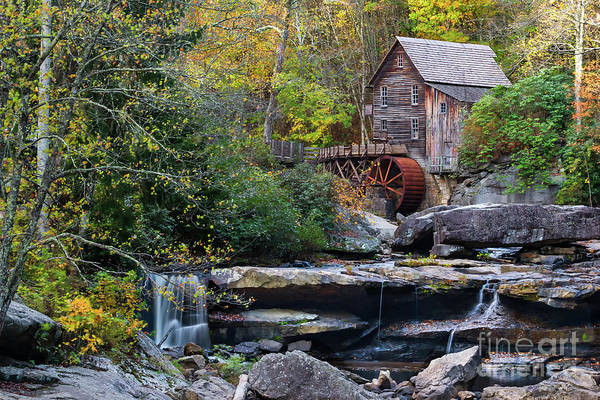 Wall Art - Photograph - Old Virginia Mill In Autumn Colors by Norma Brandsberg