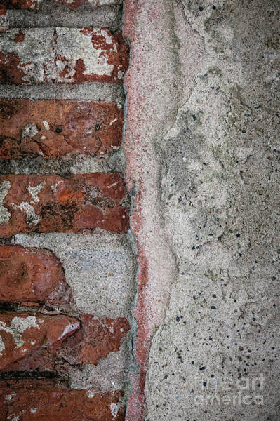 Cement Wall Art - Photograph - Old Wall Detail by Elena Elisseeva