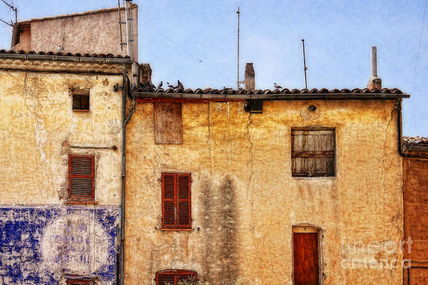 Photograph - Old Walls In Provence by Tatiana Travelways