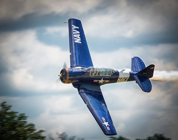 Photograph - Old Warbird Trainer by Richard Kopchock