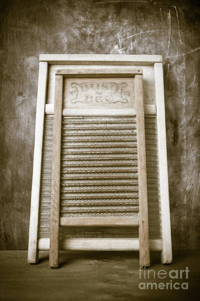 Wall Art - Photograph - Old Washboards by Edward Fielding