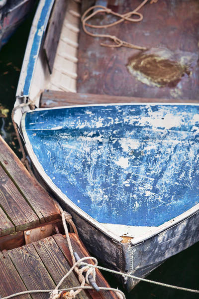 Wall Art - Photograph - Old Weathered Boat by Eric Gendron