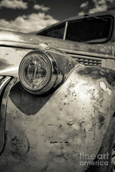 Kodachrome Wall Art - Photograph - Old Weathered Pickup Truck Outside Of Kodachrome Basin State Park by Edward Fielding