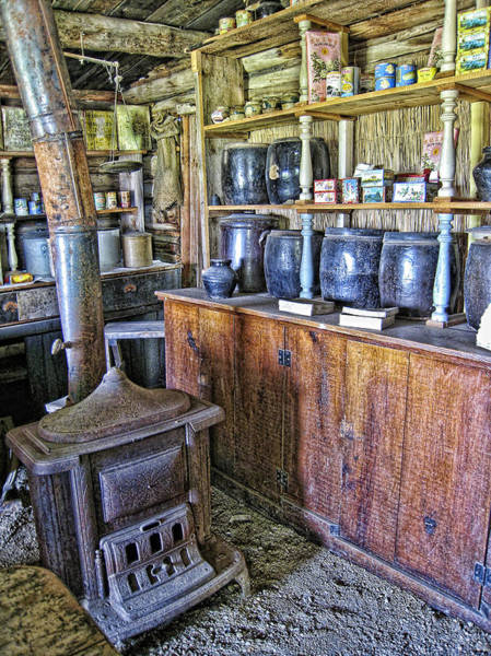 Ghosttown Photograph - Old West Chinese Apothecary - Montana Territories by Daniel Hagerman