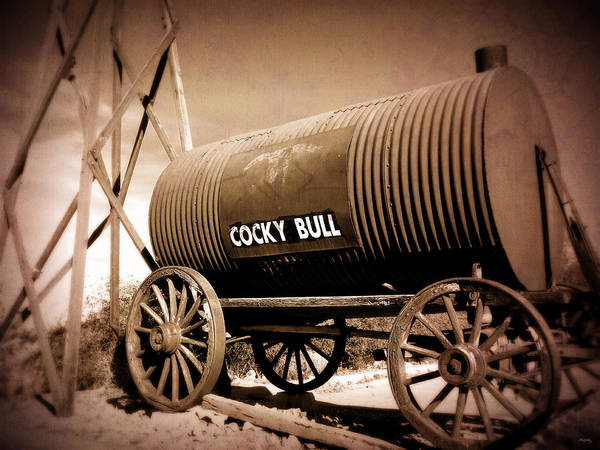 Wall Art - Photograph - Old West Tanker - Cocky Bull Steakhouse by Glenn McCarthy Art and Photography