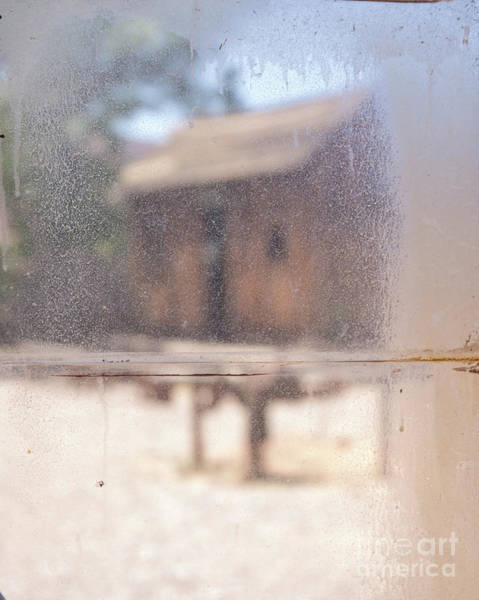Kanab Utah Photograph - Old Western Town Through The Glass by Edward Fielding