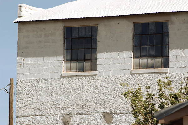 Photograph - Old White Building by Colleen Cornelius