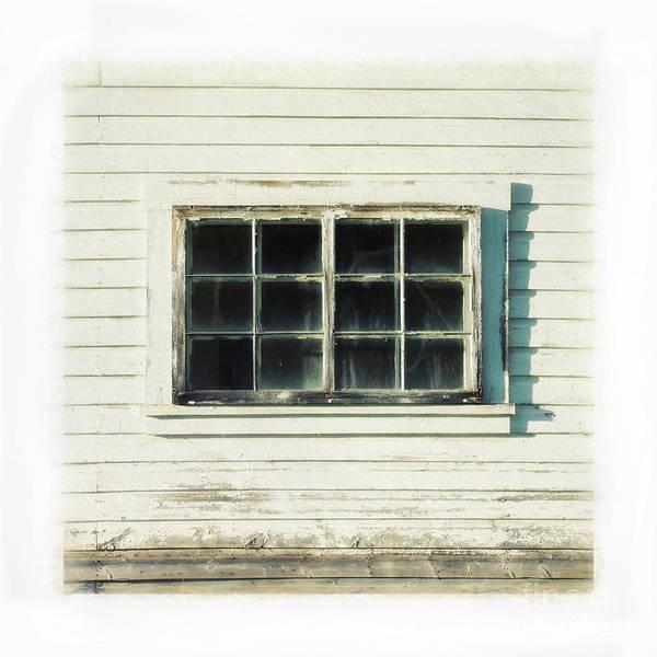 Broken Windows Photograph - Old Window 1 by Priska Wettstein