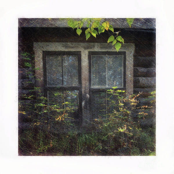 Broken Windows Photograph - Old Window 2 by Priska Wettstein