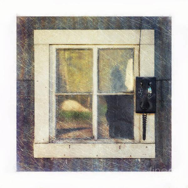 Broken Windows Photograph - Old Window 3 by Priska Wettstein