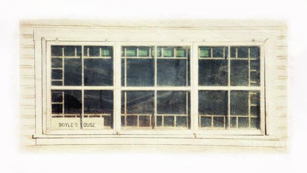 Broken Windows Photograph - Old Window 5 by Priska Wettstein