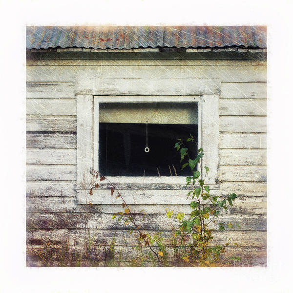 Broken Windows Photograph - Old Window 6 by Priska Wettstein