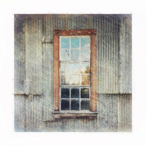 Broken Windows Photograph - Old Window 9 by Priska Wettstein