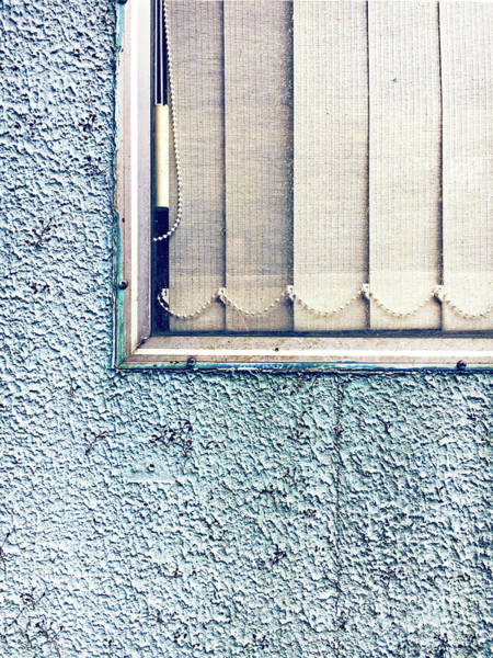 Wall Art - Photograph - Old Window And Blind by Tom Gowanlock