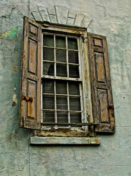Photograph - Old Window by Louis Dallara
