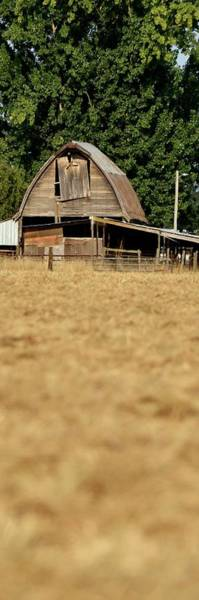 Photograph - Old Wooden Barn by Jerry Sodorff