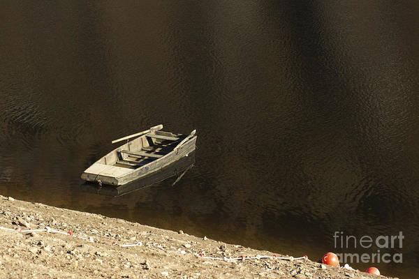 Wall Art - Photograph - Old Wooden Boat Abandoned by Bernard Jaubert