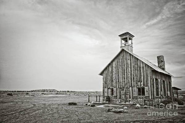 Old Church Photograph - Old Wooden Church by Delphimages Photo Creations