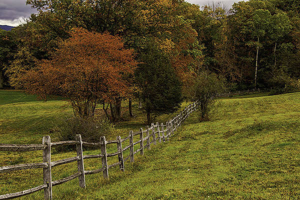 Photograph - Old Wooden Fence by Garry Gay