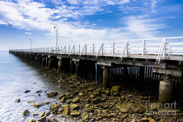 Photograph - Old Wooden Pier by Jorgo Photography - Wall Art Gallery