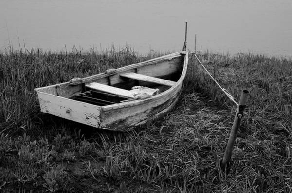 Photograph - Old Wooden Rowboat II by Dave Gordon