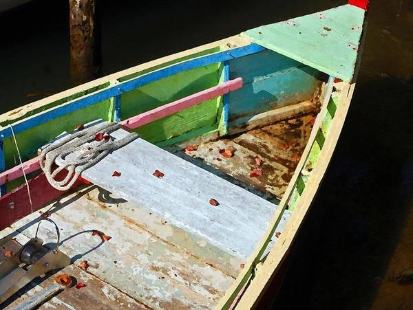 Digital Art - Old Work Boat by Michael Thomas