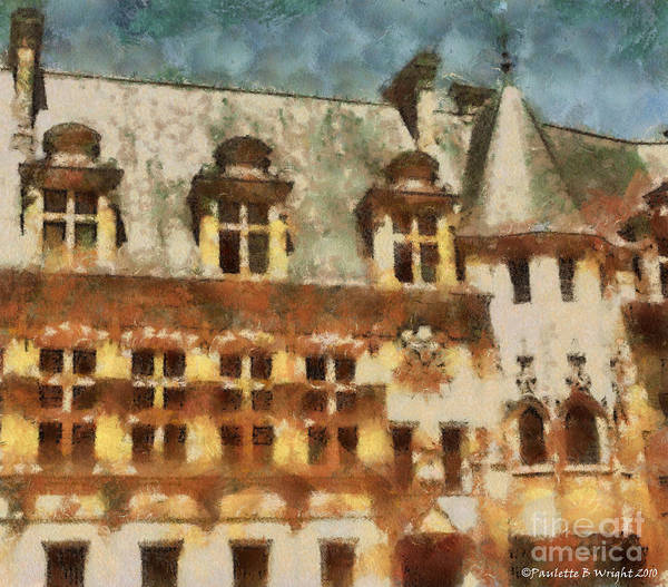 Painting - Old World by Paulette B Wright