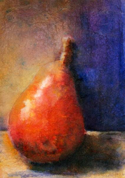 Painting - Old World Pear by Polly Castor