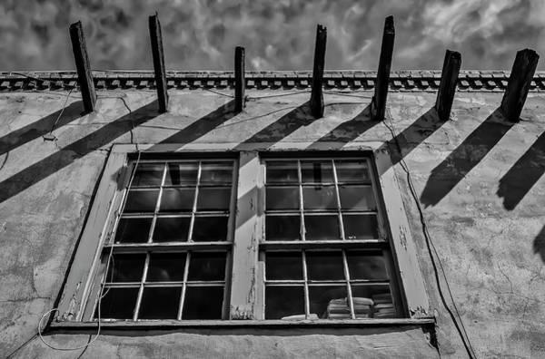 Photograph -  Old Worn Santa Fe Window by Garry Gay