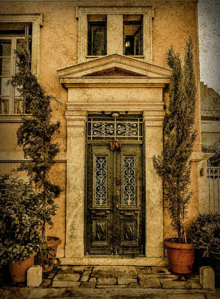 Photograph - Athens, Greece - Old Wreath by Mark Forte