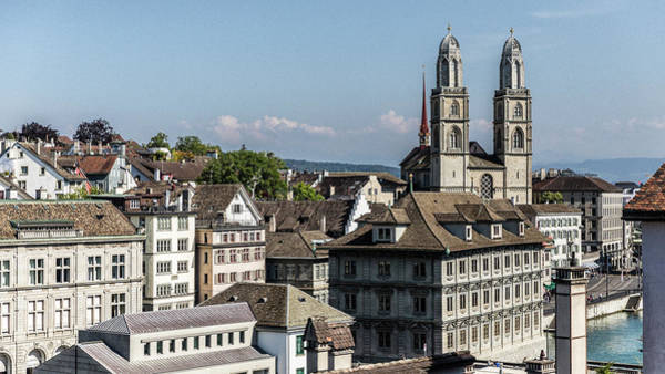 Wall Art - Photograph - Old Zurich Cityview by Stephen Stookey