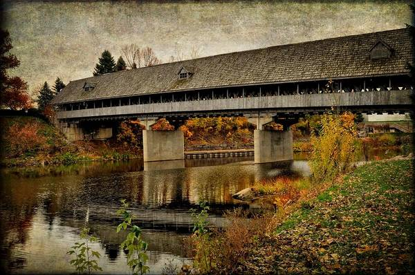 Frankenmuth Photograph - Olde Time Bridge by Chris Fleming