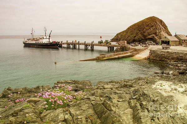 Wall Art - Photograph - Oldenburg At Lundy Island  by Rob Hawkins