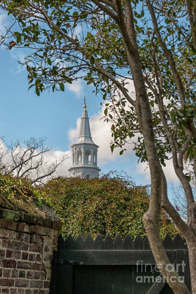 Photograph - Oldest Church In Charleston by Dale Powell