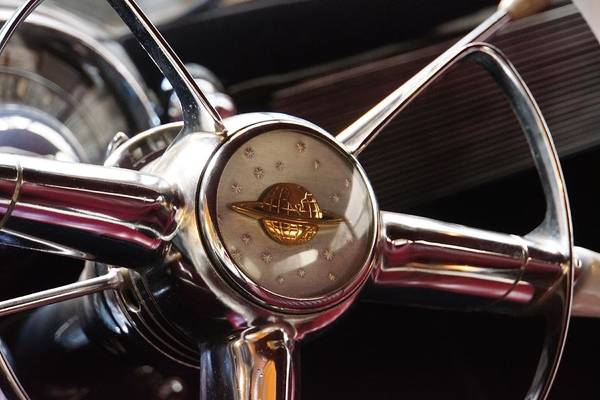 Photograph - Olds Horn Emblem by Patricia Strand