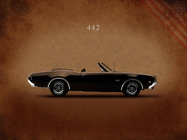 Oldsmobile Wall Art - Photograph - Oldsmobile 442 by Mark Rogan