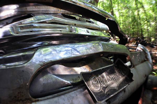 Photograph - Oldsmobile Bumper Detail by Matthew Mezo