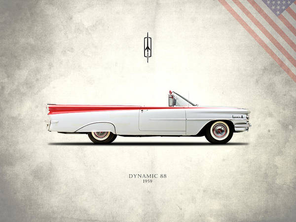 Oldsmobile Wall Art - Photograph - Oldsmobile Dynamic 88 1959 by Mark Rogan