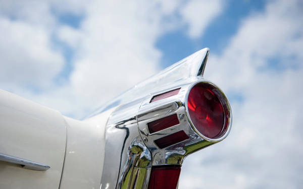 Photograph - Oldsmobile Tail Light by Helen Northcott