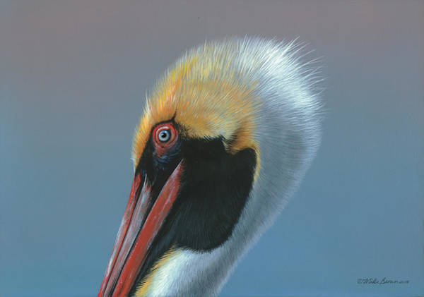 Painting - Ole Blue Eyes by Mike Brown
