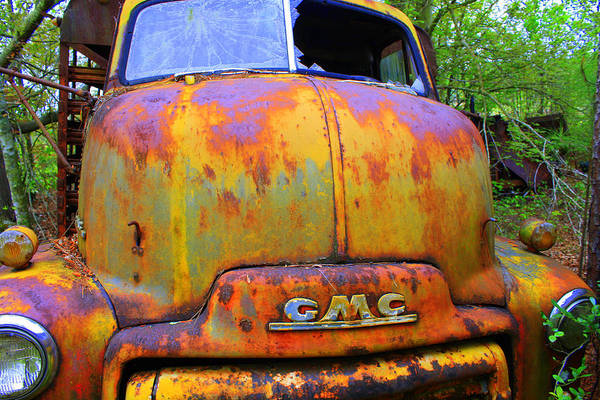 Trucks Wall Art - Photograph - Ole Rusty Full Frontal by Dana Blalock