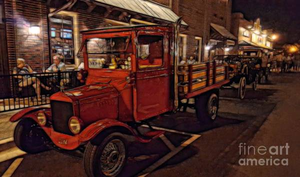 Photograph - Ole Towne Happenings by Mary Lou Chmura