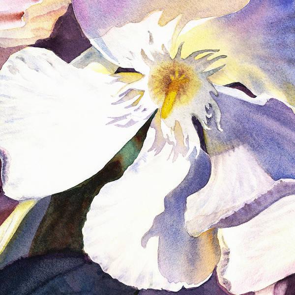 Wall Art - Painting - Oleander Close Up  by Irina Sztukowski
