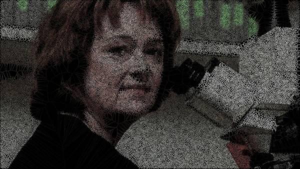Digital Art - Olfactory System Woman by Stephane Poirier