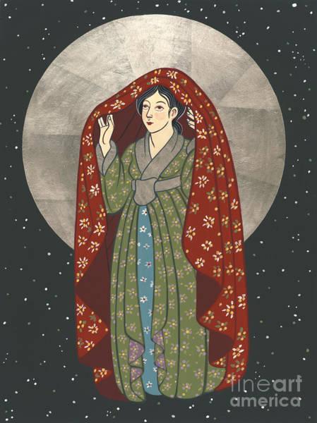 Painting - Olga's Kuan Yin 204 by William Hart McNichols