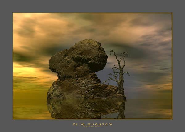 Digital Art - Olim - Quondam - Surrealism by Sipo Liimatainen